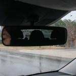 2017 Mercedes Benz Metris rearview mirror