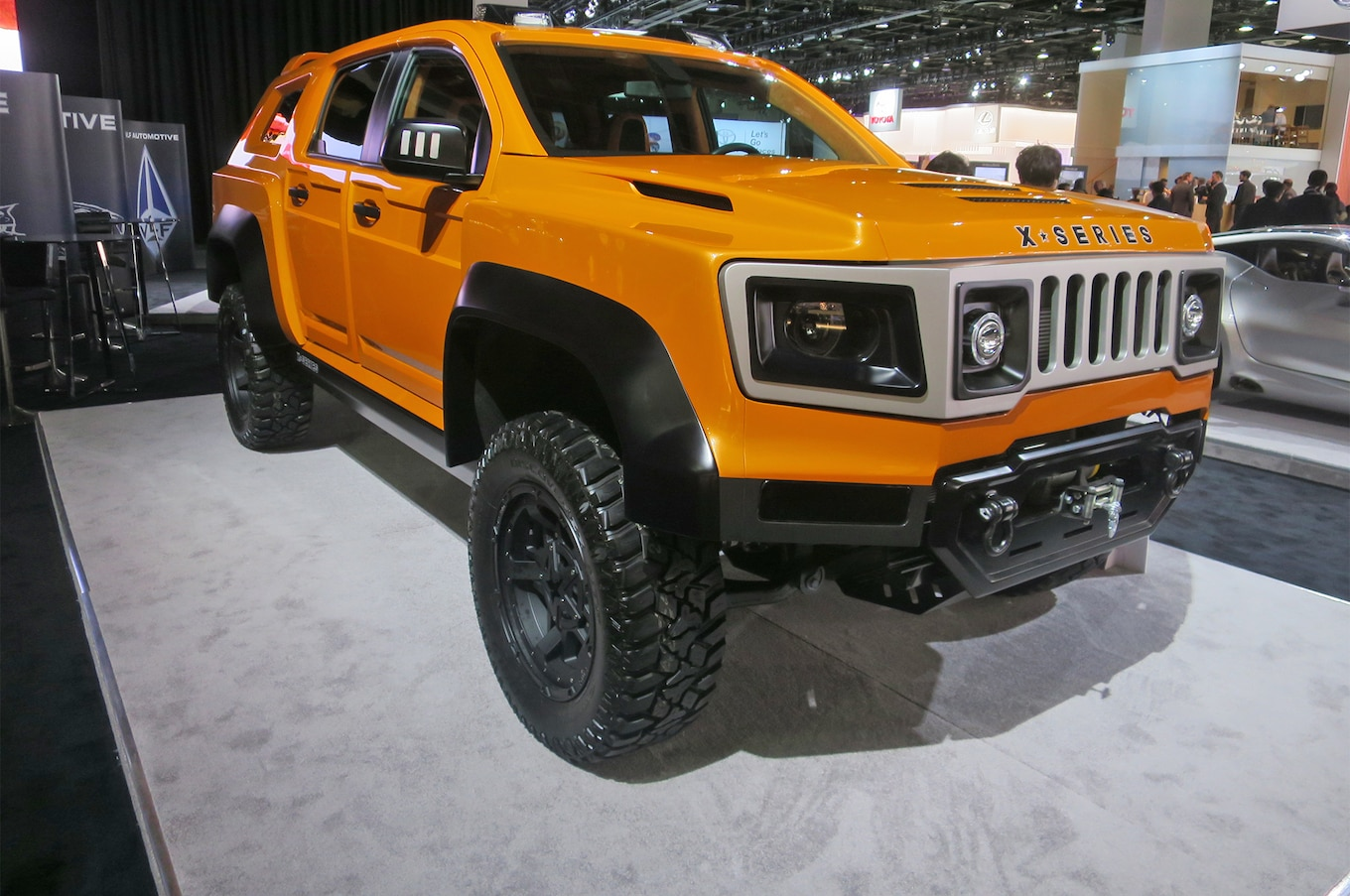 VLF Automotive X Force Concept is a Chevrolet Colorado With a
