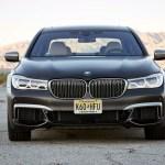 2017 BMW M760i xDrive front end
