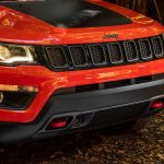 2017 Jeep Compass Trailhawk front grille