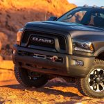 2017 Ram 2500 Power Wagon front end side 1
