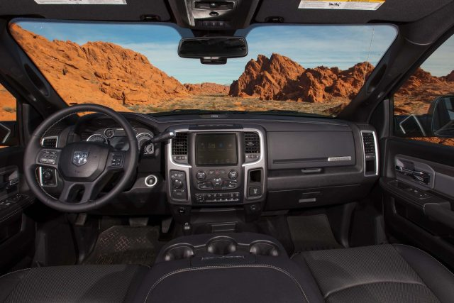 2017 Ram 2500 Power Wagon interior