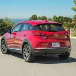 2016 Mazda CX 3 Grand Touring AWD rear three quarters