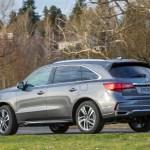 2017 Acura MDX Hybrid rear three quarter 02