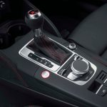 2017 Audi RS 3 Sportback center console gear knob 1