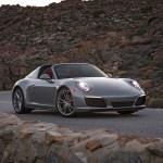 2017 Porsche 911 Targa 4S front three quarter