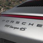2017 Porsche 911 Targa 4S rear badge