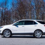 2018 Chevrolet Equinox side profile 03