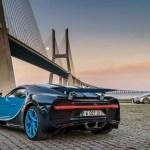 Bugatti Chiron rear three quarter