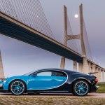 Bugatti Chiron side profile
