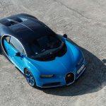 Bugatti Chiron top view 02
