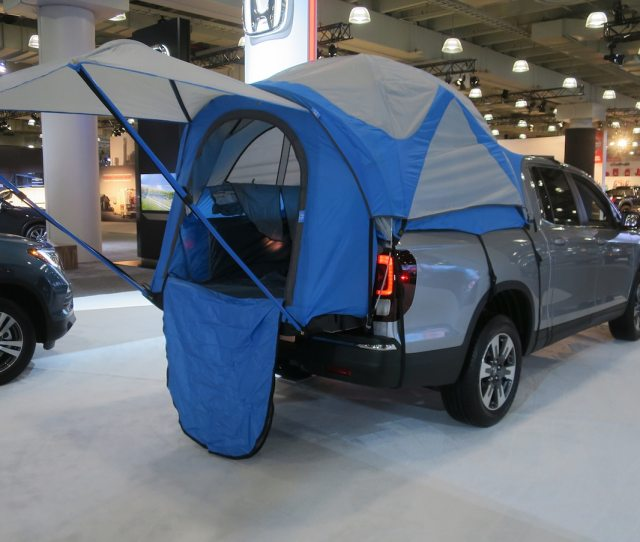 Happy Glampers Custom Bed Tent Now Available For Honda Ridgeline Motor Trend