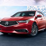 2018 Acura TLX front three quarter
