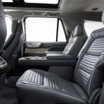 2018 Lincoln Navigator rear interior seats 02