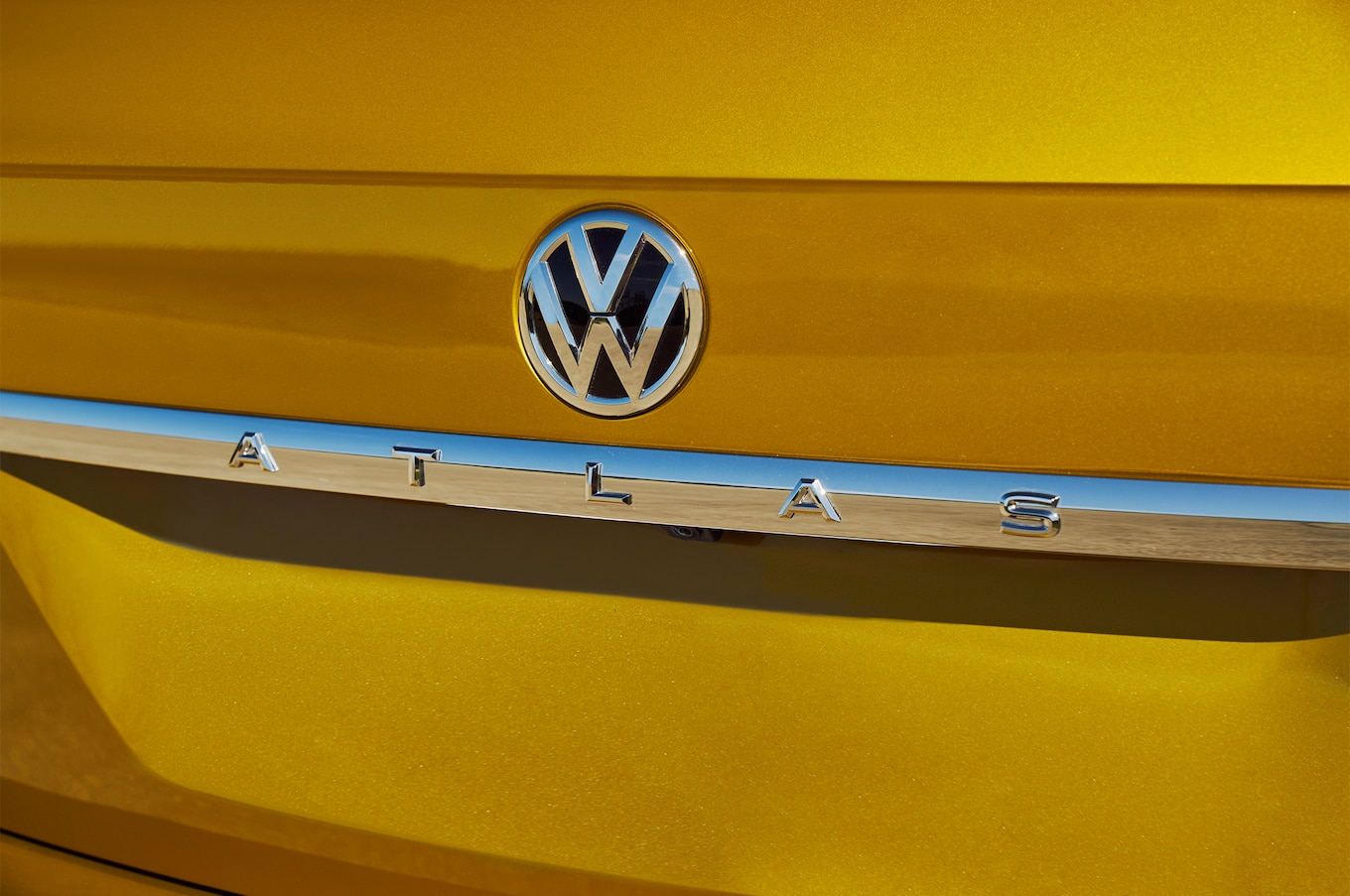 2018 Volkswagen Atlas badge