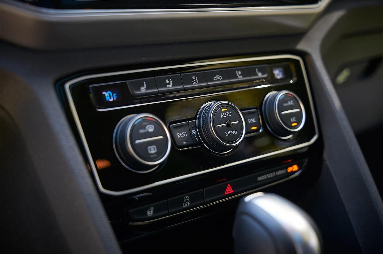 2018 Volkswagen Atlas climate control