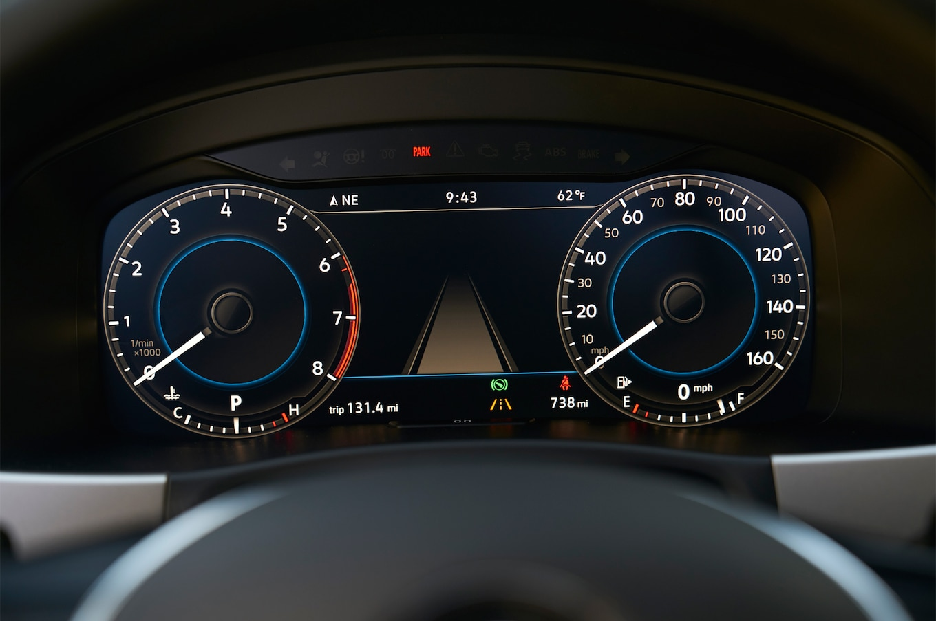 2018 Volkswagen Atlas instrument panel 01