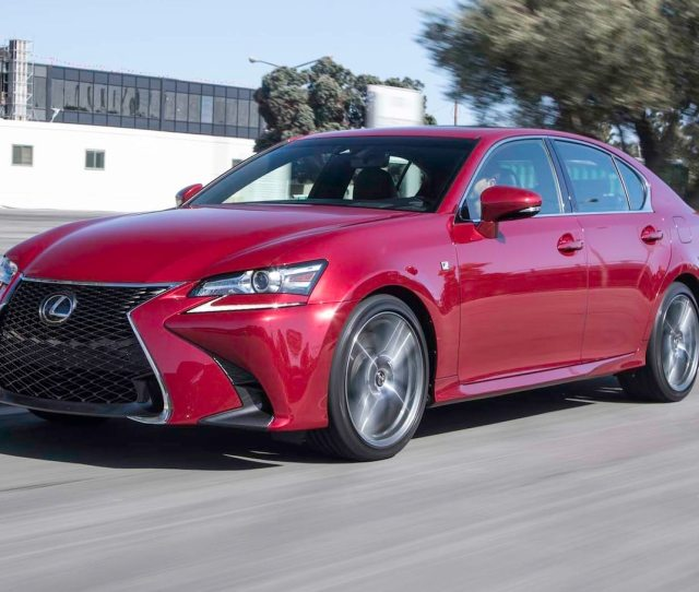 Lexus Gs  F Sport First Test The Emotional Value Pick Motor Trend