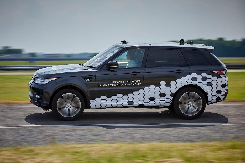 Autonomous Range Rover Sport Can Drive Itself on City Streets
