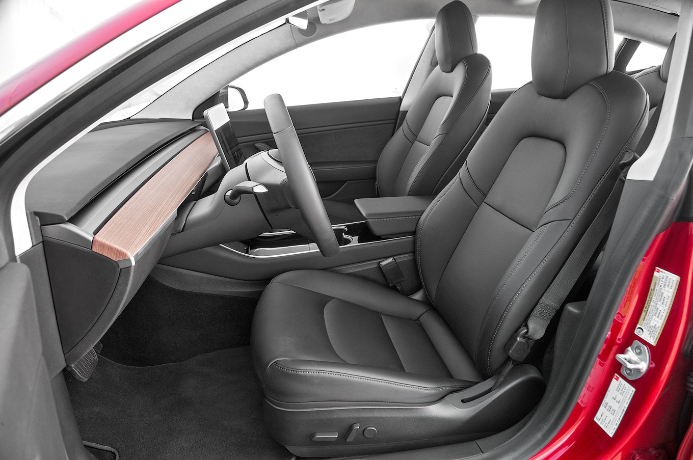 Details Of Model 3 Interior Are Very Niceexcept The