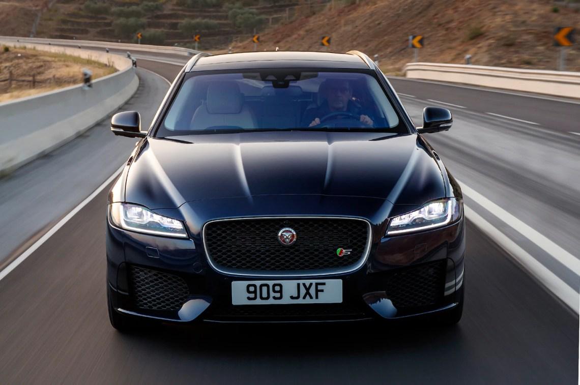 2018 jaguar xf sportbrake first drive review - motor trend