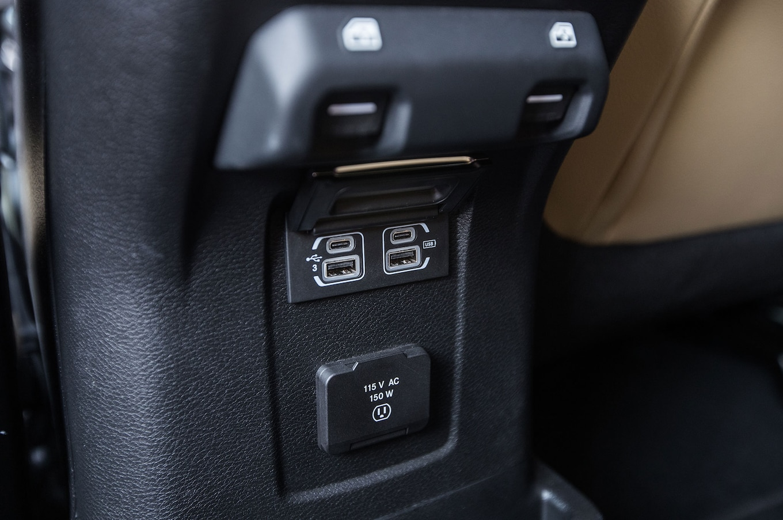 2018 Jeep Wrangler Sahara Unlimited Interior USB Outlets
