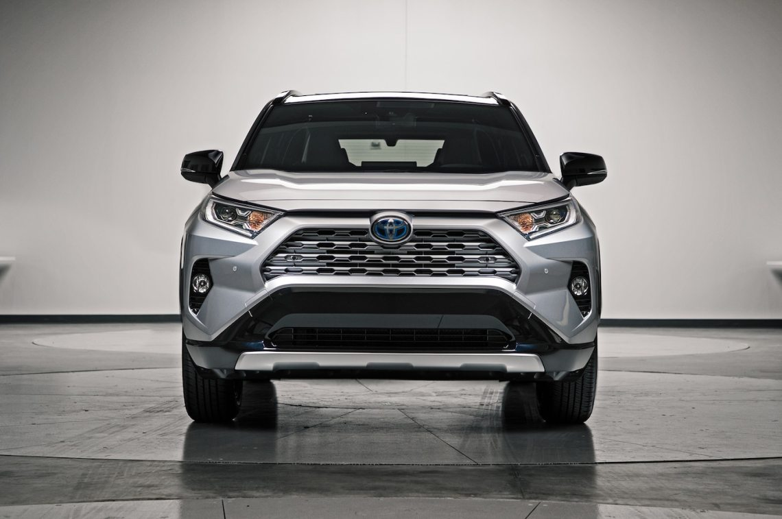 2019 toyota rav4 first look: new look for the suv sales king - motor