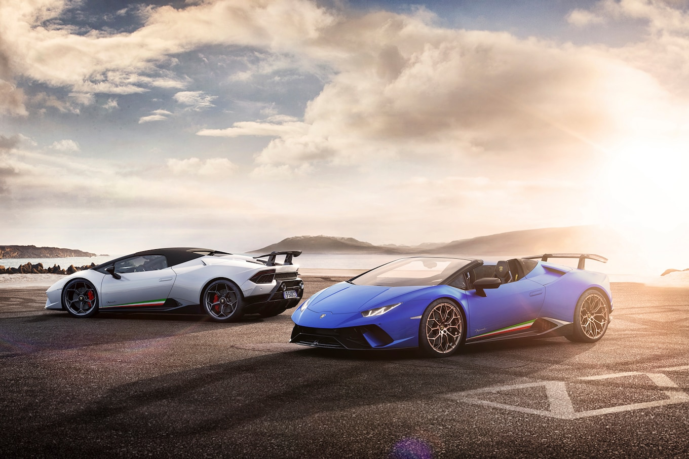 Fittingly, The Huracan Performante Spyder Will Go On Sale This Summer.  Source: Lamborghini