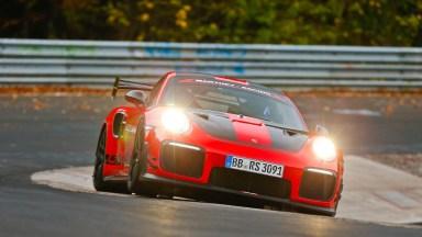 A Porsche 911 GT2 RS Beat the Lamborghini Aventador SVJ's 'Ring Time - Motor Trend