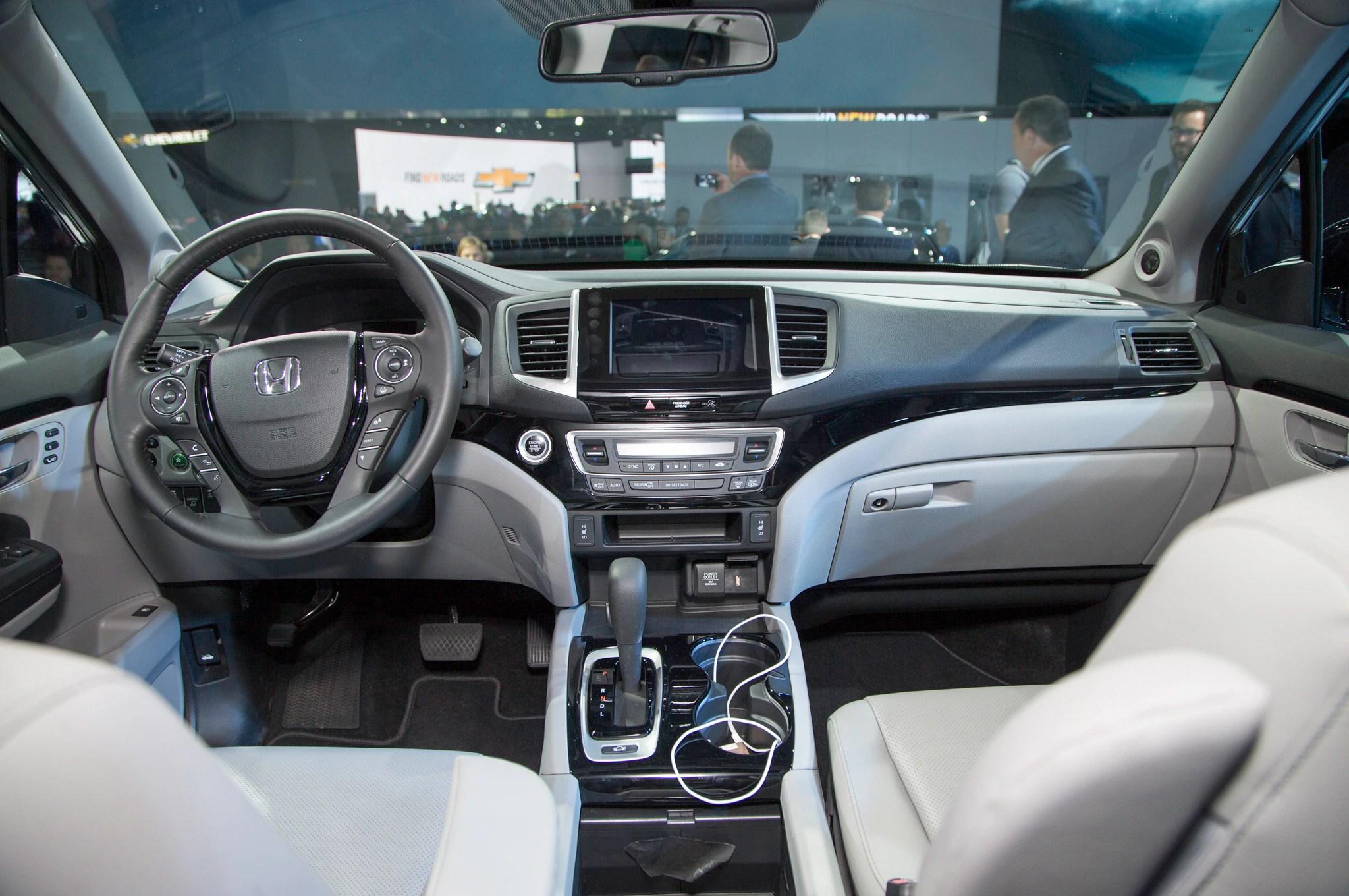 Honda Ridgeline 2017 Primer Vistazo