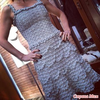 Платье BELLINI. Ванесса Монторо.