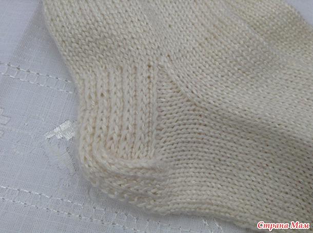 * Nové ponožky k mým tlačítek. MK - pletená dvojitá pata.