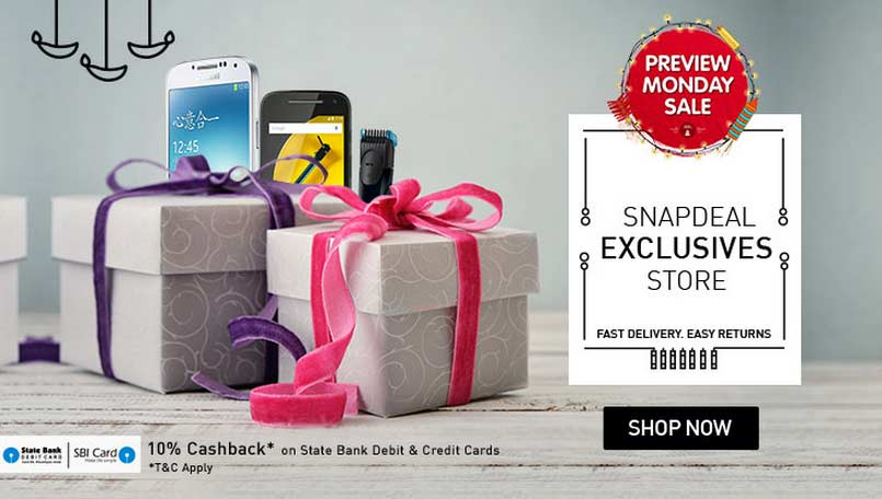 Snapdeal Preview Monday Sale: 5 great deals from Apple iPhone 6 to LG Nexus 5