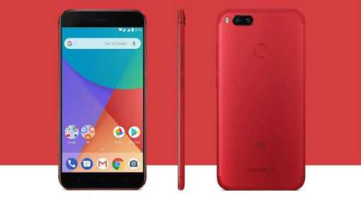 Image result for Xiaomi Mi A1 red