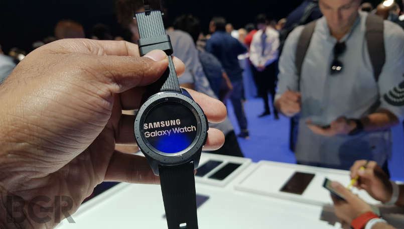 Samsung Galaxy Watch First Impressions: Promises improved battery life and connectivity