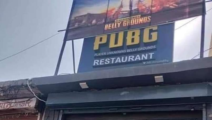 There's a PUBG themed restaurant in Jaipur now and you may want to drop by
