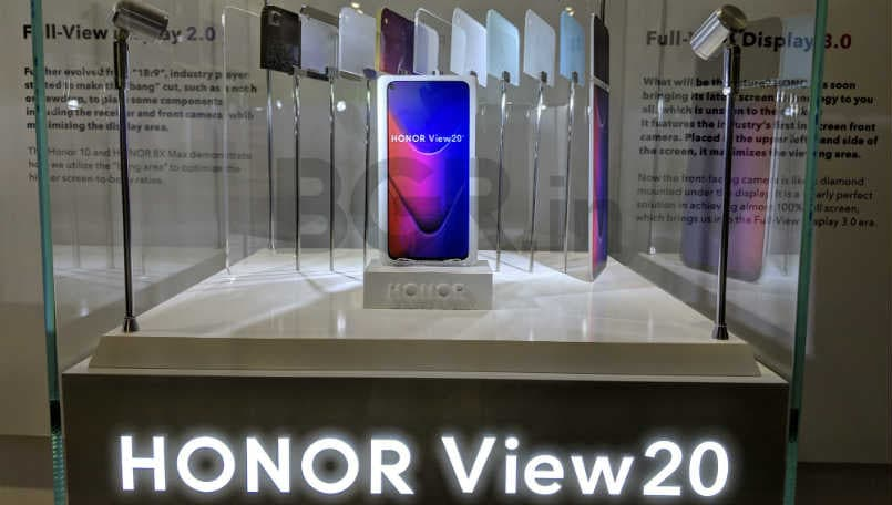 Honor View20 to come with 48-megapixel primary camera, in-screen front camera