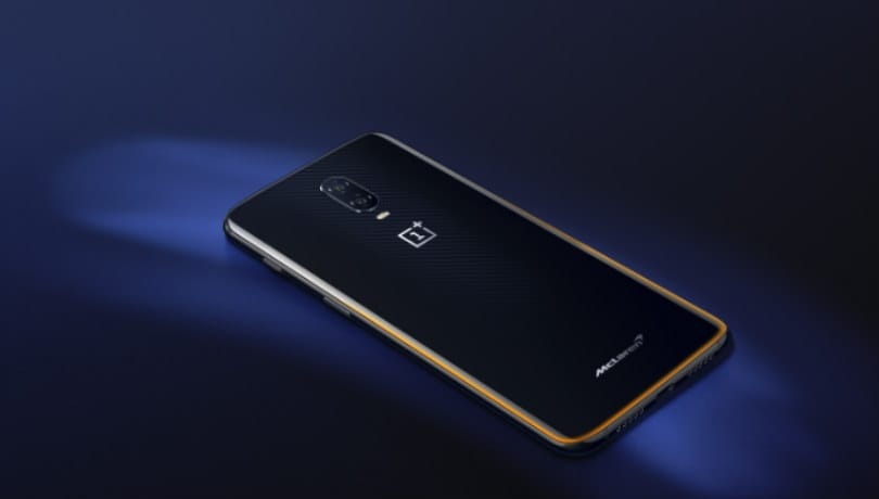 OnePlus 6T McLaren Edition with 10GB RAM, 256GB storage, 30W 'Warp Charge' tech launched