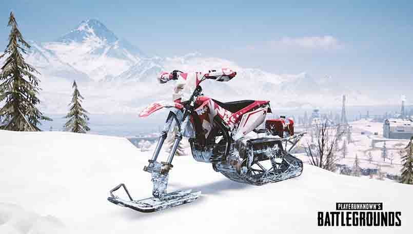 PUBG Update 25 Hits Test Server With Vikendi Moonlight Mode Snowbike Bizon SMG Canted Sight