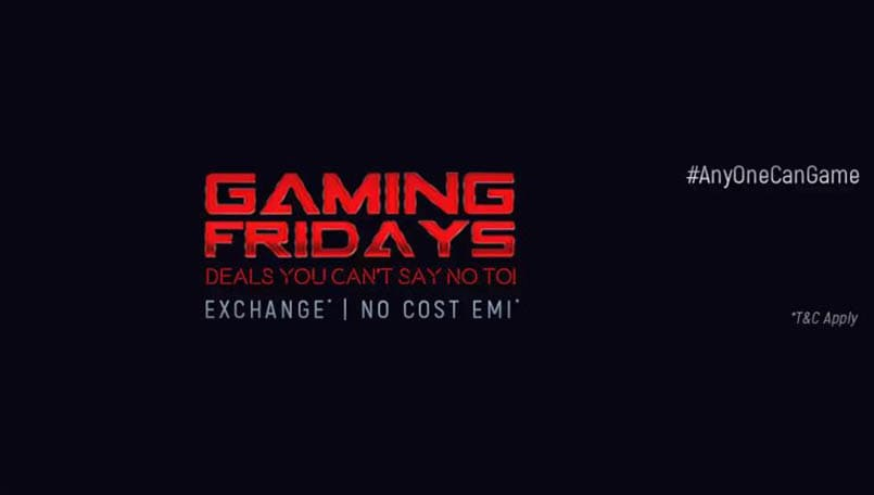 Gaming Fridays on Flipkart: Check out these deals on consoles, laptops, accessories and more