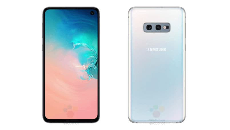 Samsung Galaxy S10e images leak; confirms name, hole punch design and features