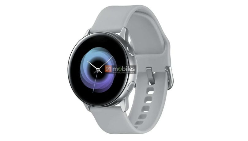 Samsung Galaxy Watch Active leaked specifications hint at no bezel ring, 1.1-inch display and more