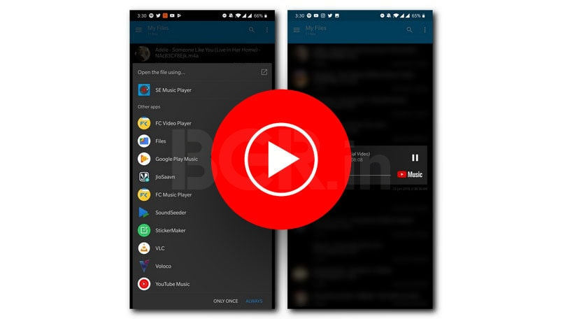 YouTube Music now allows you to play media files stored on your smartphone, but with a catch