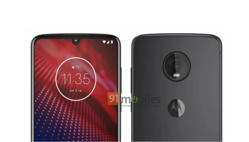 Moto Z4 press renders, specifications leaked; rumored to launch later this year