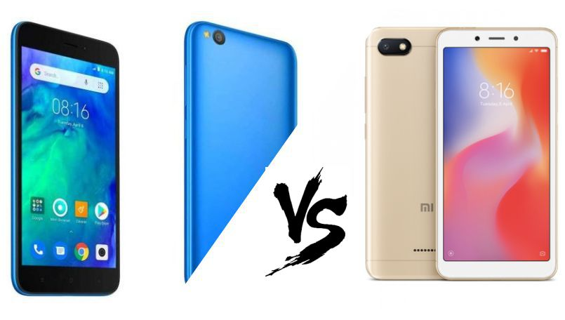 Xiaomi Redmi Go vs Xiaomi Redmi 6A: Which one should you buy?