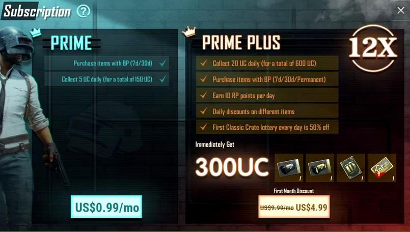PUBG Mobile Prime and Prime Plus subscriptions official now on Android and iOS: Here are all the details