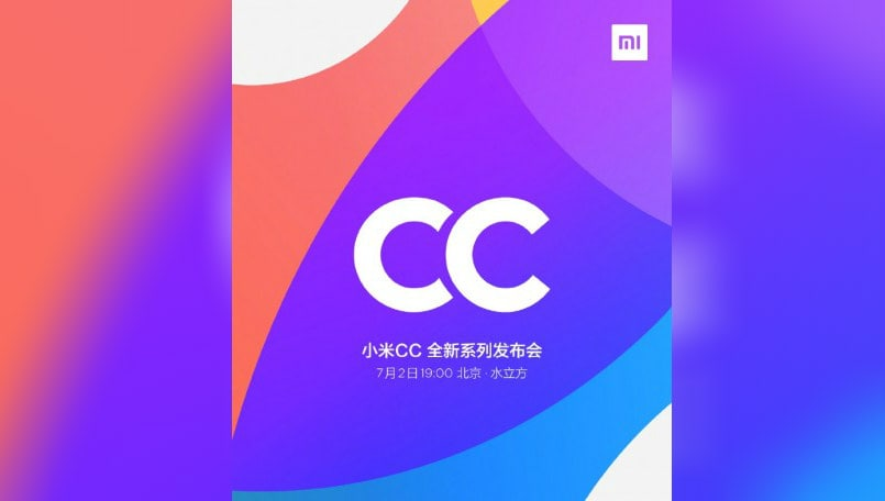 Xiaomi CC9 and CC9e smartphones set to launch on July 2