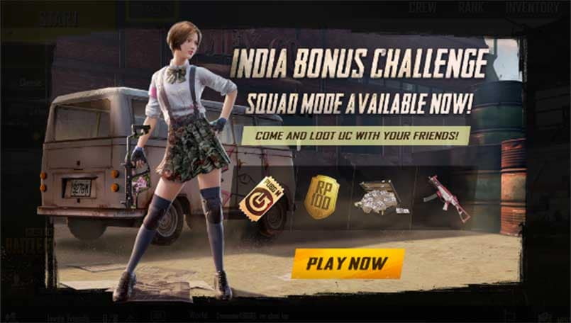 PUBG Mobile: All you need to know about the India Bonus Challenge