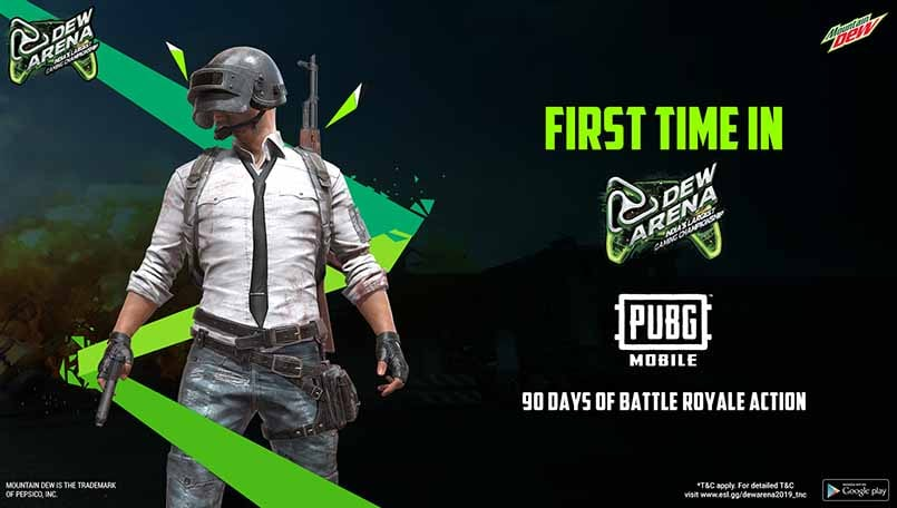 Dew Arena Championship introduces PUBG Mobile in its mobile leg