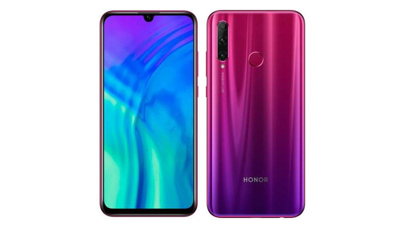 Honor 20i Phantom Red Limited Edition announced in India: Specifications and price